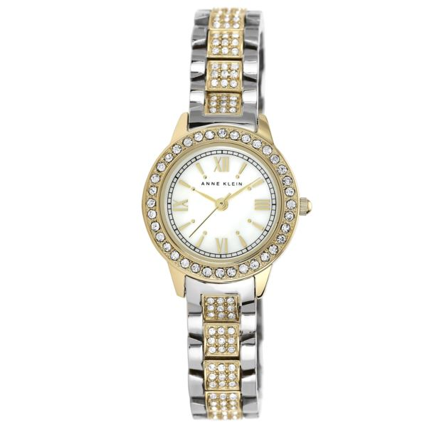 Women's Swarovski Crystal Accented Watch AK-1493MPTT