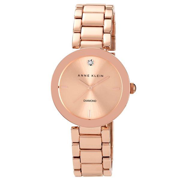 Women's Rose Gold Diamond Dial Bracelet Watch AK-1362RGRG