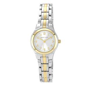 Women's Two Tone Dress Bracelet Watch 10-5491SVTT