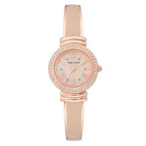 Women's Rose Gold Bangle Watch AK-2882BHRG