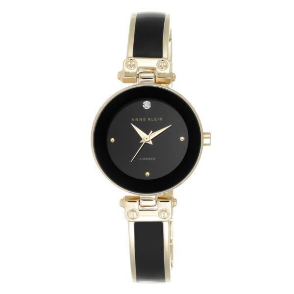 Women's Diamond Accent Watch AK-1980BKGB