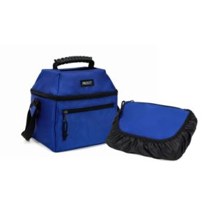 Freezable 9 Can Skylight Cooler, Cobalt Blue PKT-NS-CBB