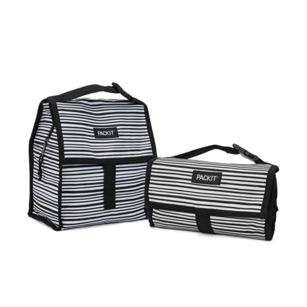 Freezable Lunch Bag, Wobbly Stripes PKT-PC-WST