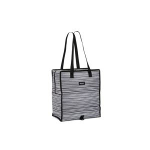 Freezable Grocery Bag, Wobbly Stripes PKT-GT-WST
