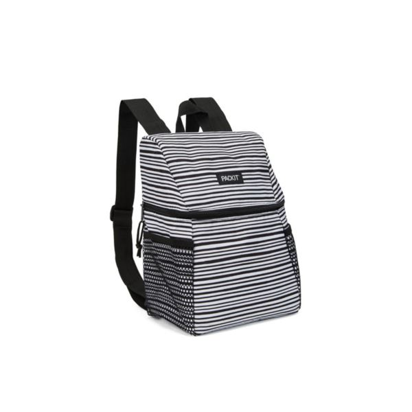 Freezable Lifestyle Lunch Backpack, Wobbly Stripes PKT-CP-WST