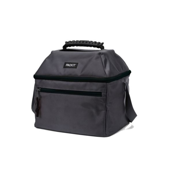 Freezable 18 Can Skylight Cooler, Charcoal PKT-ES-CHA