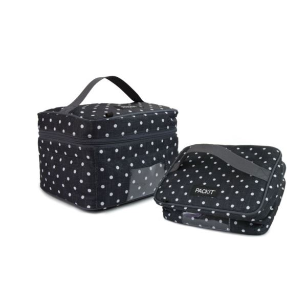 Freezable Breastmilk & Formula Cooler, Polka Dots PKT-BC-POL