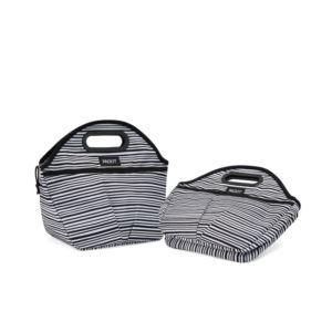Freezable Traveler Lunch Bag, Wobbly Stripe PKT-TV-WST