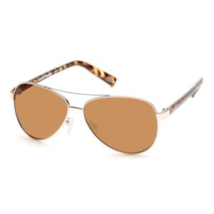 Women's Polarized  Sunglasses - Gold/Tortoise SE4135-31H