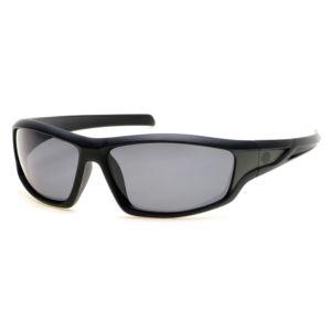 Men's Polarized Sunglasses - Black/Smoke HD0631S-01D