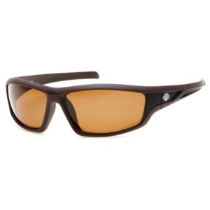 Men's Polarized Sunglasses - Matte Brown / Brown HD0631S-49H