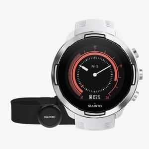 Suunto 9 G1 Baro White + Hr Belt Sports Watch SS050090000