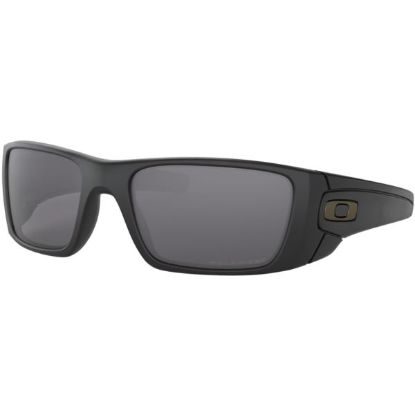 Fuel Cell Sunglasses - Matte Black/Grey Polarized OO9096-05