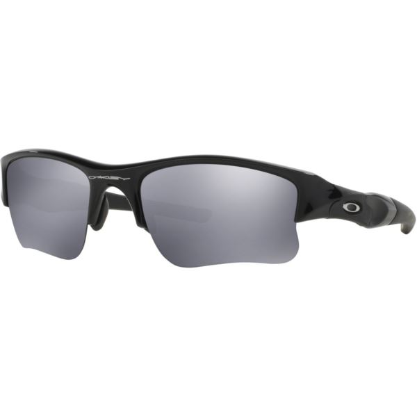 Flak Jacket XLJ Sunglasses - Jet Black/Black Iridium OO9009-03