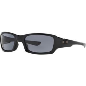 Fives Squared Sunglasses - Polished Black/Grey OO9238-04
