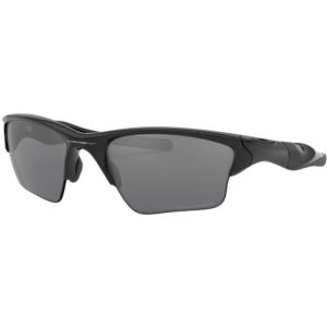 Half Jacket 2.0 XL Sunglasses - Polished Black/Black Iridium Polarized OO9154-05
