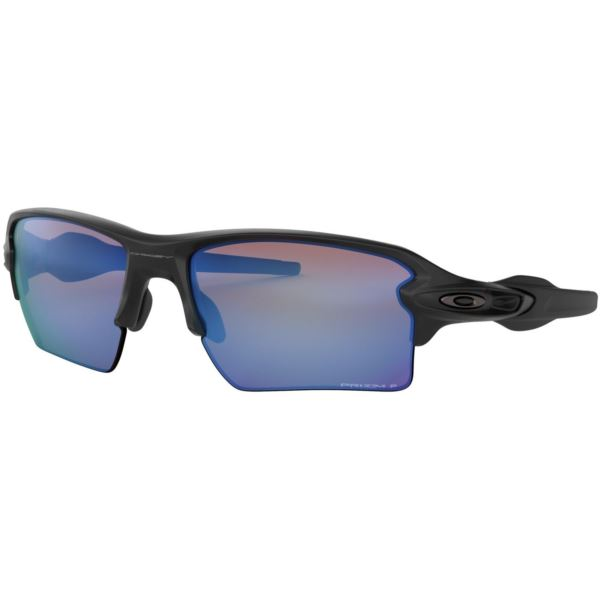 Flak 2.0 XL Sunglasses - Matte Black/Prizm Deep Water Polarized OO9188-58