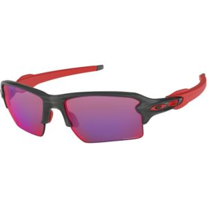 Flak 2.0 XL Sunglasses - Matte Gray Smoke/Prizm Road OO9188-04
