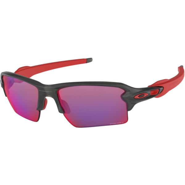 Flak 2.0 XL Sunglasses - Matte Gray Smoke/Prizm Road OO9188-04