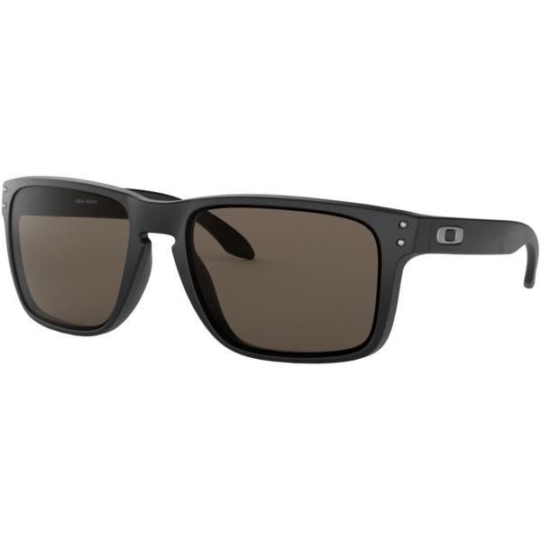 Holbrook XL Sunglasses - Matte Black/Warm Grey OO9417-0159