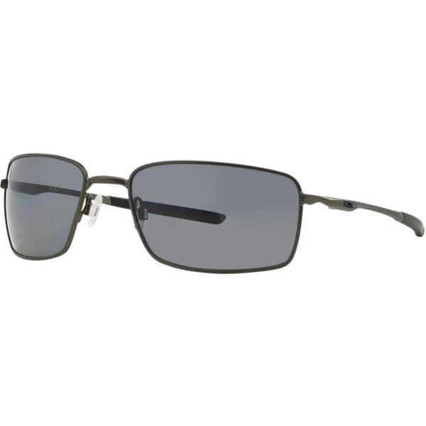 Square Wire Sunglasses - Carbon/Grey Polarized OO4075-04