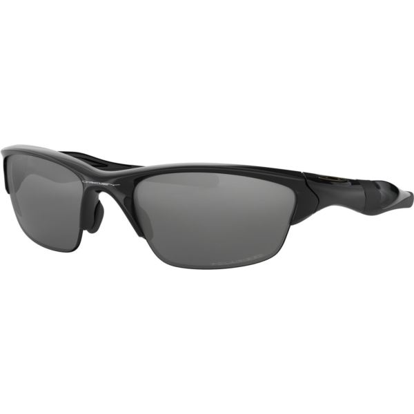 Half Jacket 2.0 Sunglasses - Polished Black/Black Iridium Polarized OO9144-04