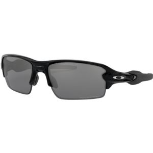 Flak 2.0 Sunglasses - Polished Black/Black Iridium Polarized OO9295-07