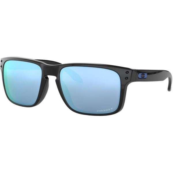 Holbrook Sunglasses - Polished Black/Prizm Deep Water Polarized OO9102-C1
